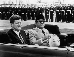Jhon F Kennedy dan Ir Sokarno
